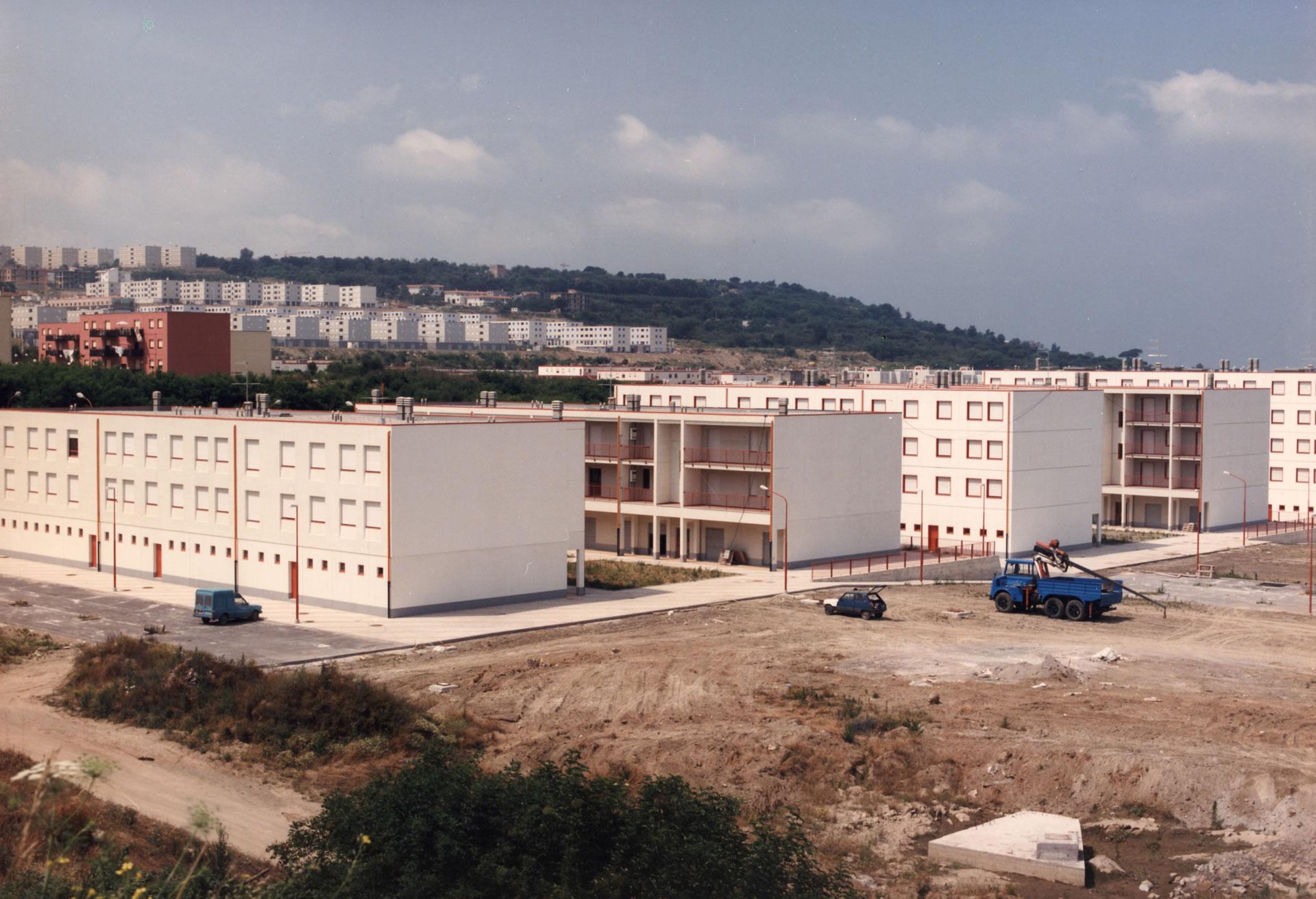 Ferdinando Masciotta - costruzione di 500 alloggi per la Città di Pozzuoli in località Monteruscello